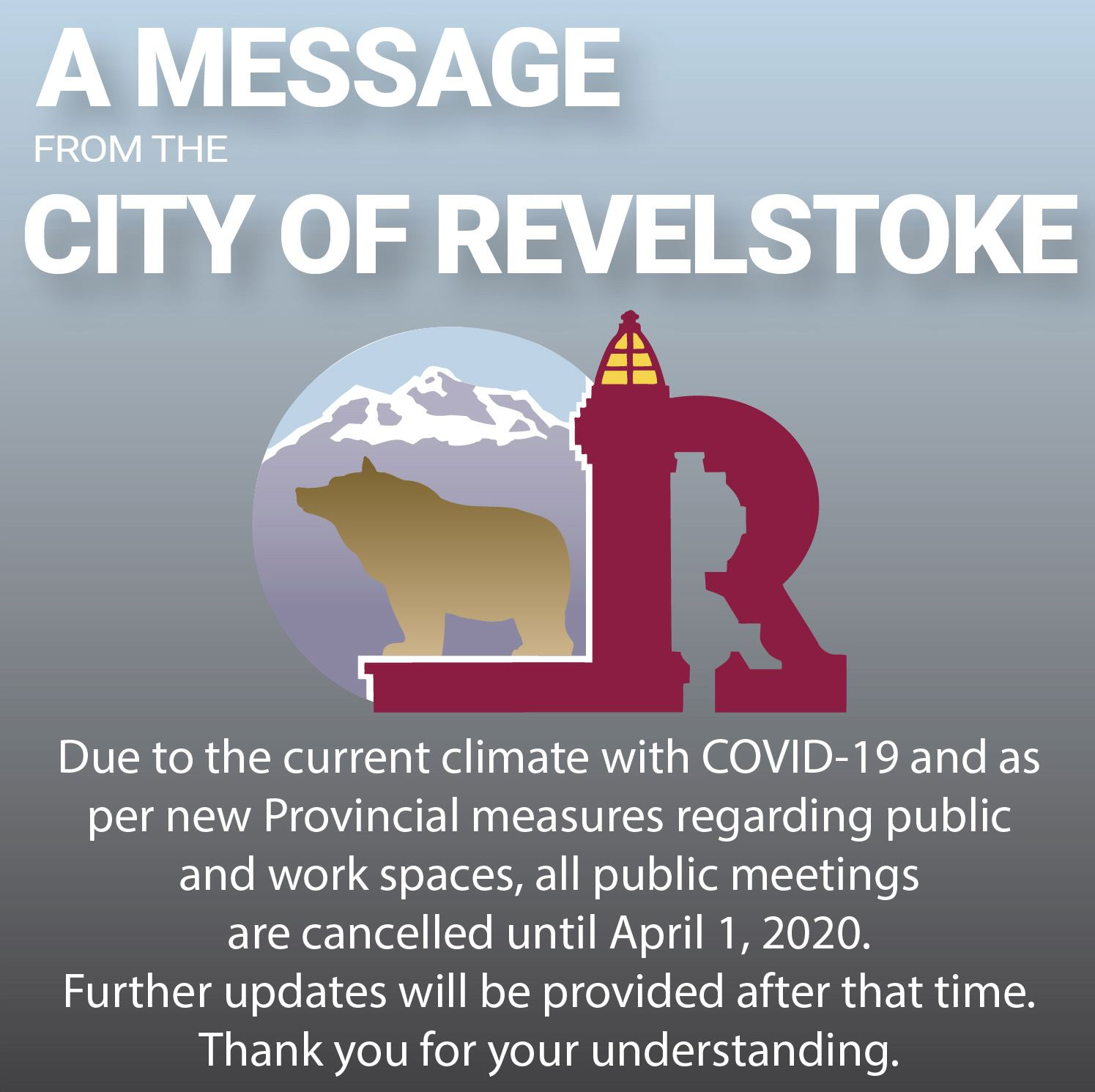 COVID-19-public meetings cancelled