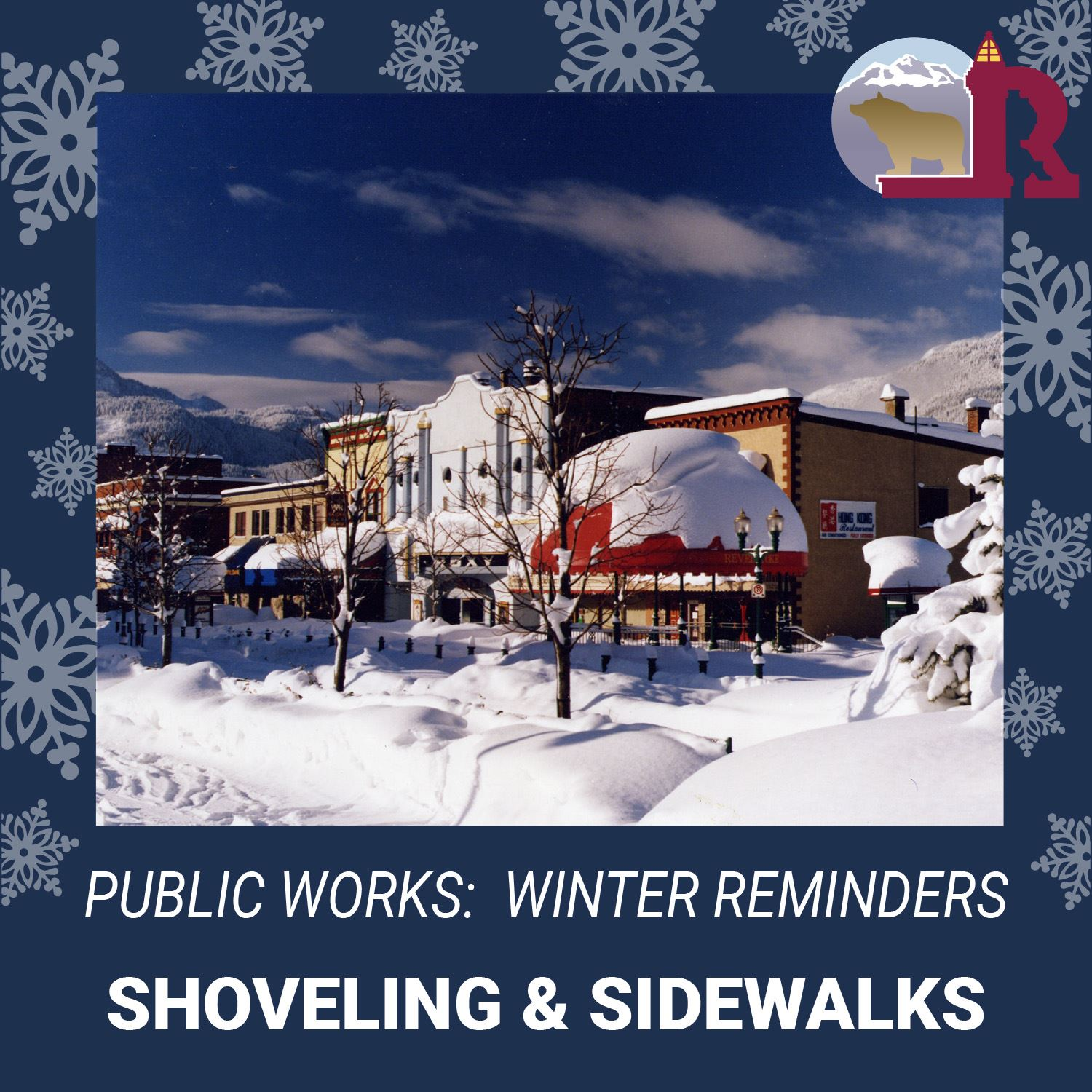 PW-Winter Messaging-Shoveling and Sidewalks